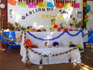 Altares día de muertos