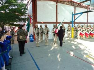 Ceremonia de incineración de bandera